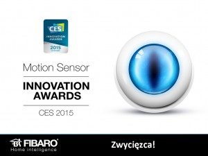 Czujnik ruchu Fibaro - nagroda ma targach CES 2015